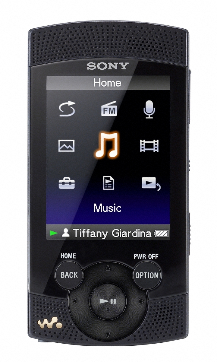 Mp3: Sony's WALKMAN S540 Series Players With Built-in Stereo